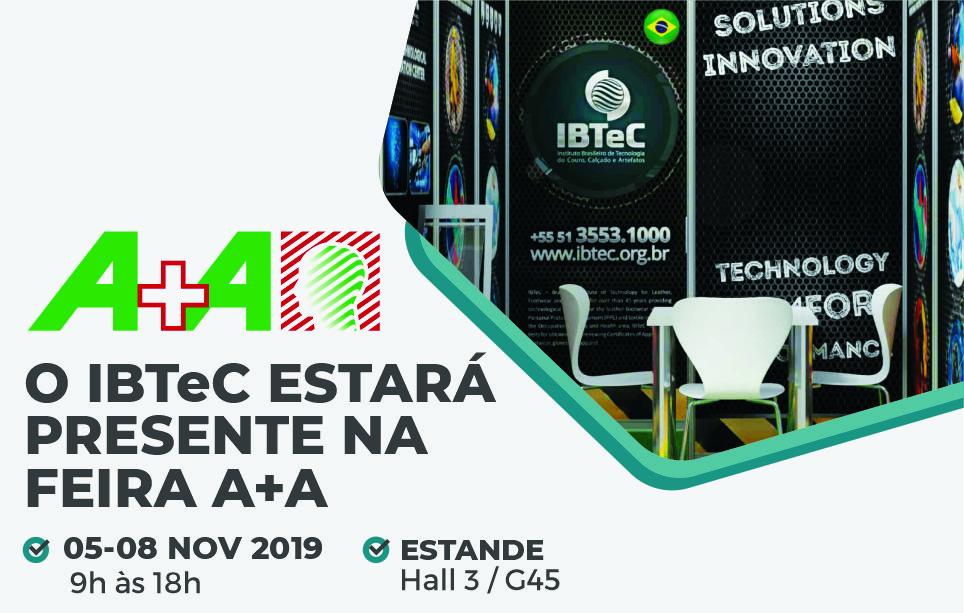 IBTeC terá estande na A+A, maior feira de segurança e saúde no trabalho do mundo, de 5 a 8 de novembro, em Düsseldorf-Alemanha