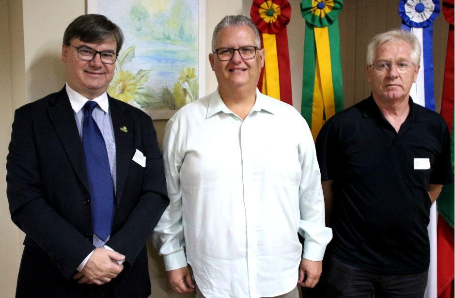 IBTeC visita presidente da Câmara de Vereadores de Novo Hamburgo