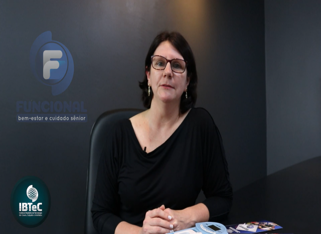 Dra. Juliana Wilborn - Fisioterapeuta,Gerontóloga eresponsável pelo Laboratório Funcional do IBTeC