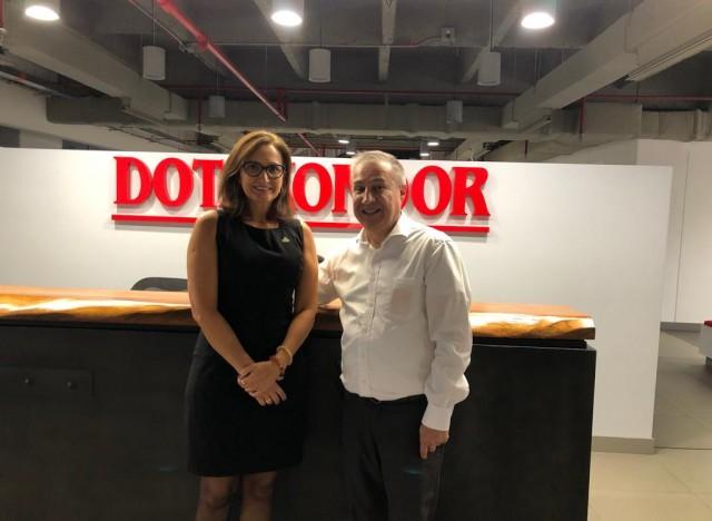 Karin Becker (IBTeC) e Juan Carlos (Dotakondor)