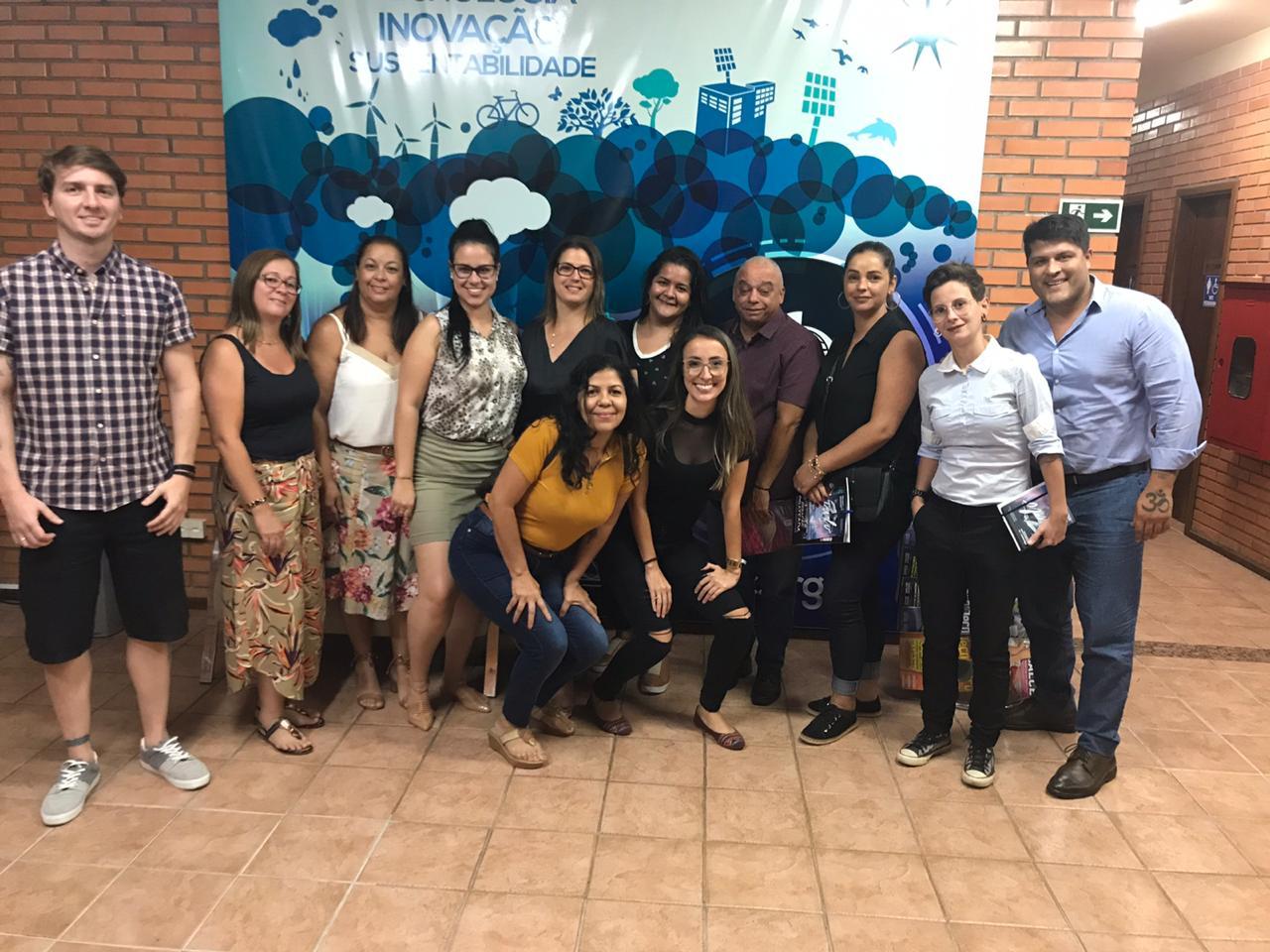 Equipe da FCEM/FEBRATEX participam de evento na sede do IBTeC