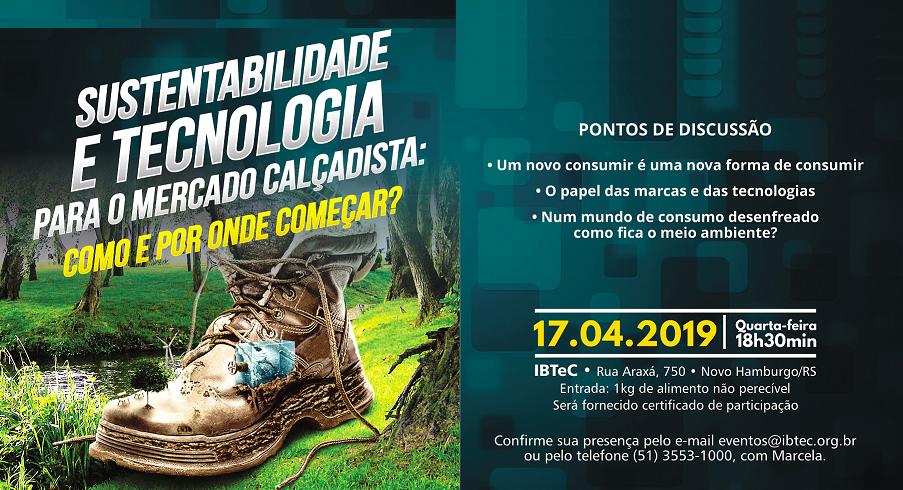 Sustentabilidade e tecnologia para o mercado calçadista será o tema do próximo Happy Hour com Tecnologia