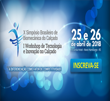 Simpósio de Biomecânica e Workshop de Tecnologia e Inovação divulgarão pesquisas e inovações na indústria calçadista