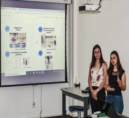 Vencedoras do Prêmio IBTeC de Inovação na Mostratec 2019 apresentaram trabalho aos gestores do instituto