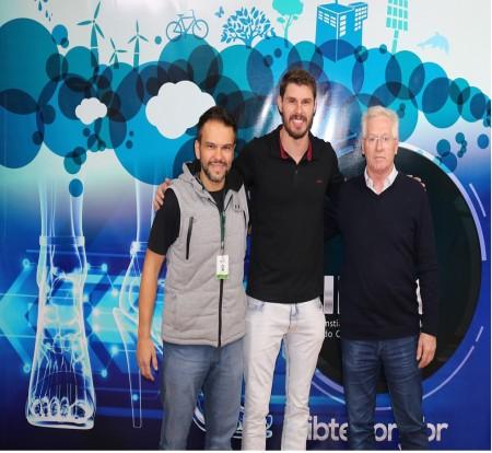 IBTeC recebe campeão olímpico e mundial de voleibol para análises no laboratório de biomecânica