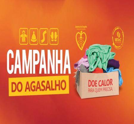 IBTeC se engaja na Campanha do Agasalho