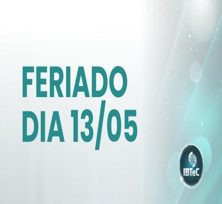 ATENÇÃO - FERIADO DE ASCENSÃO DO SENHOR
