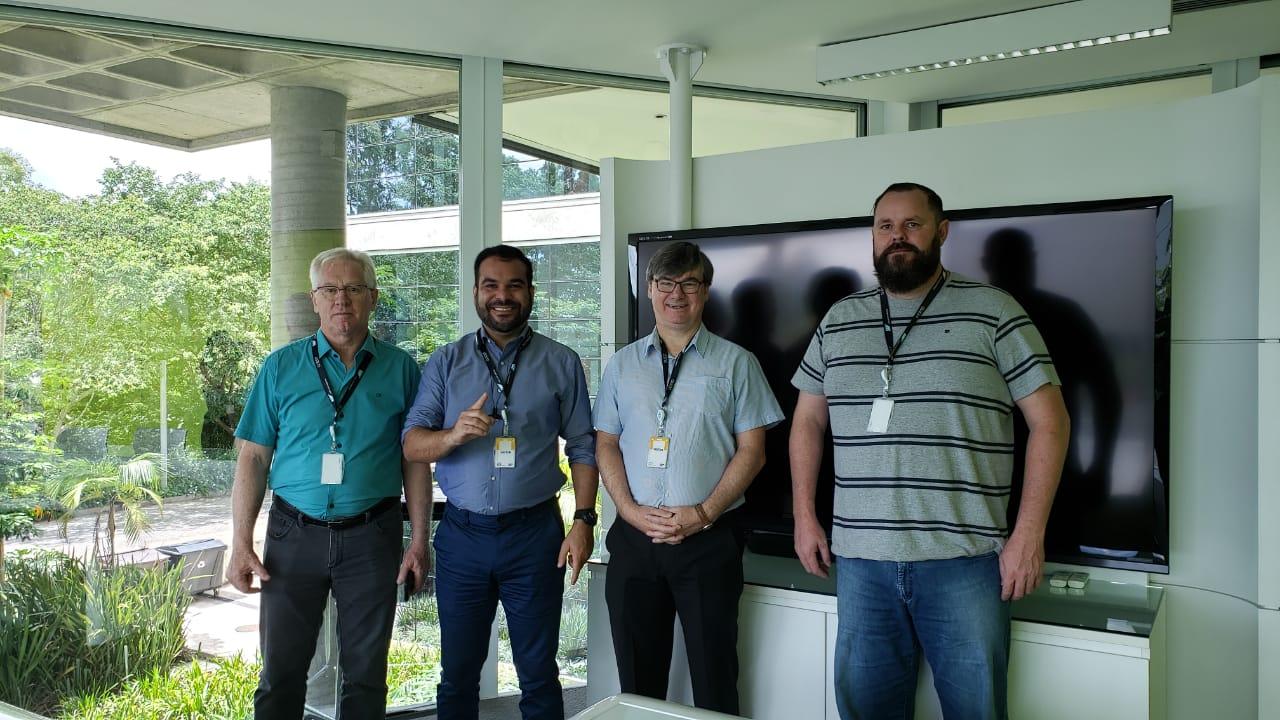 Direção do IBTeC visitou laboratórios da SAP
