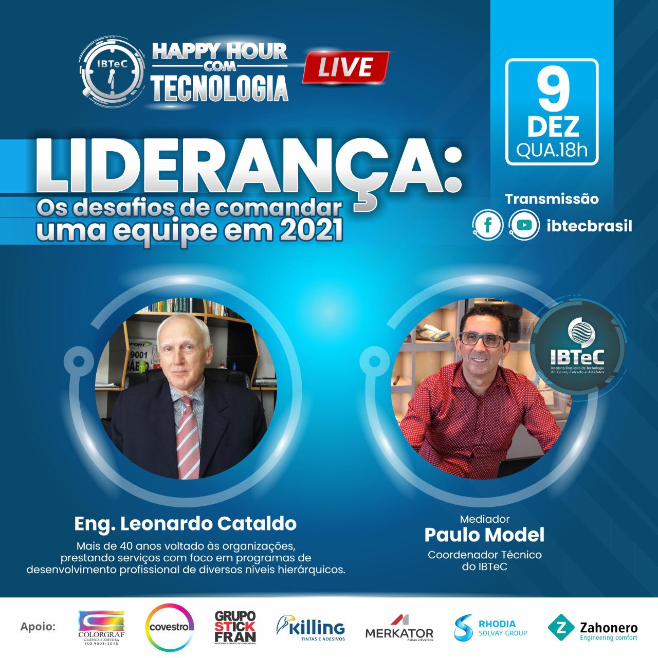 LIVE! Liderança - Os desafios de comandar uma equipe em 2021