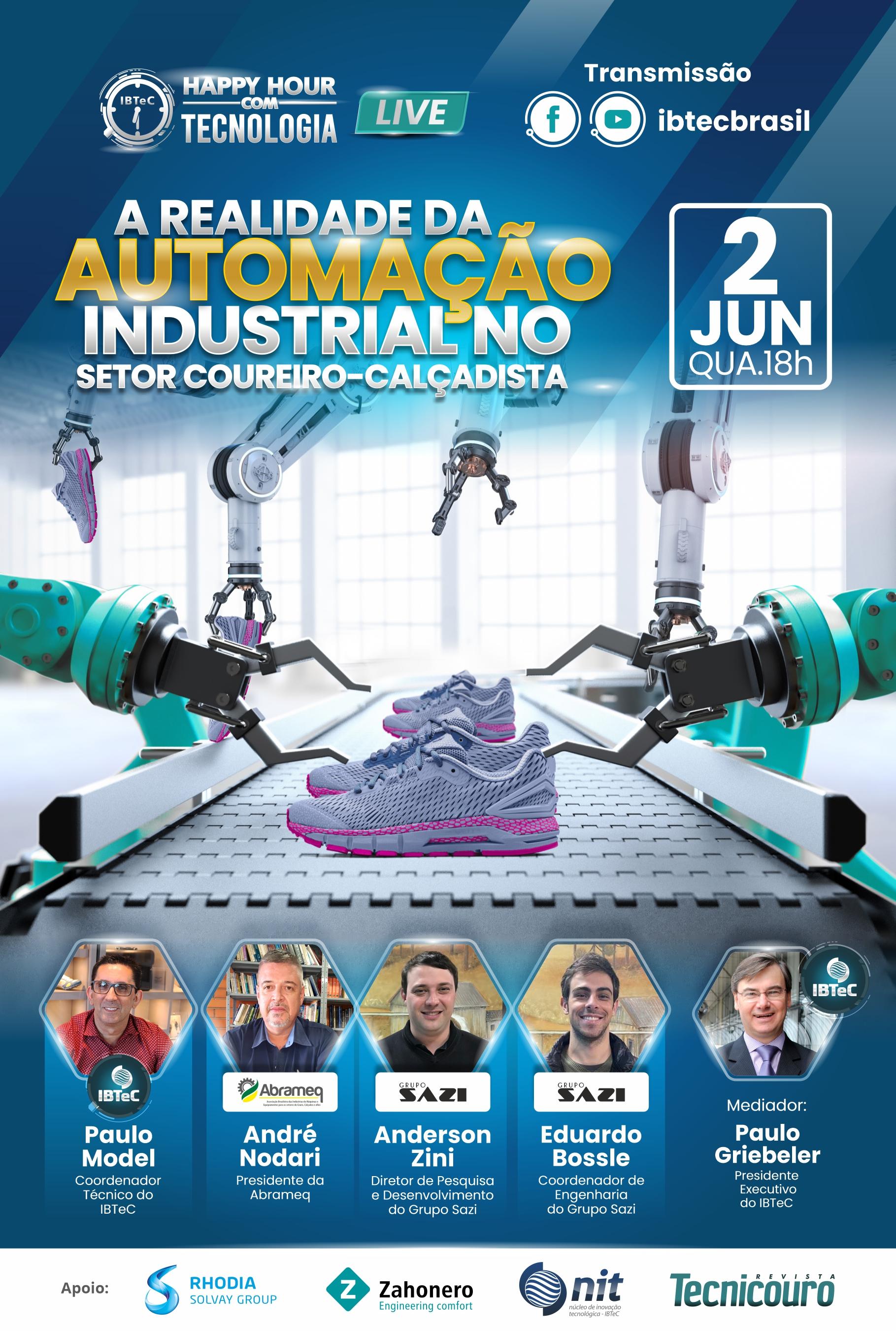 LIVE! A realidade da automação industrial no setor coureiro-calçadista