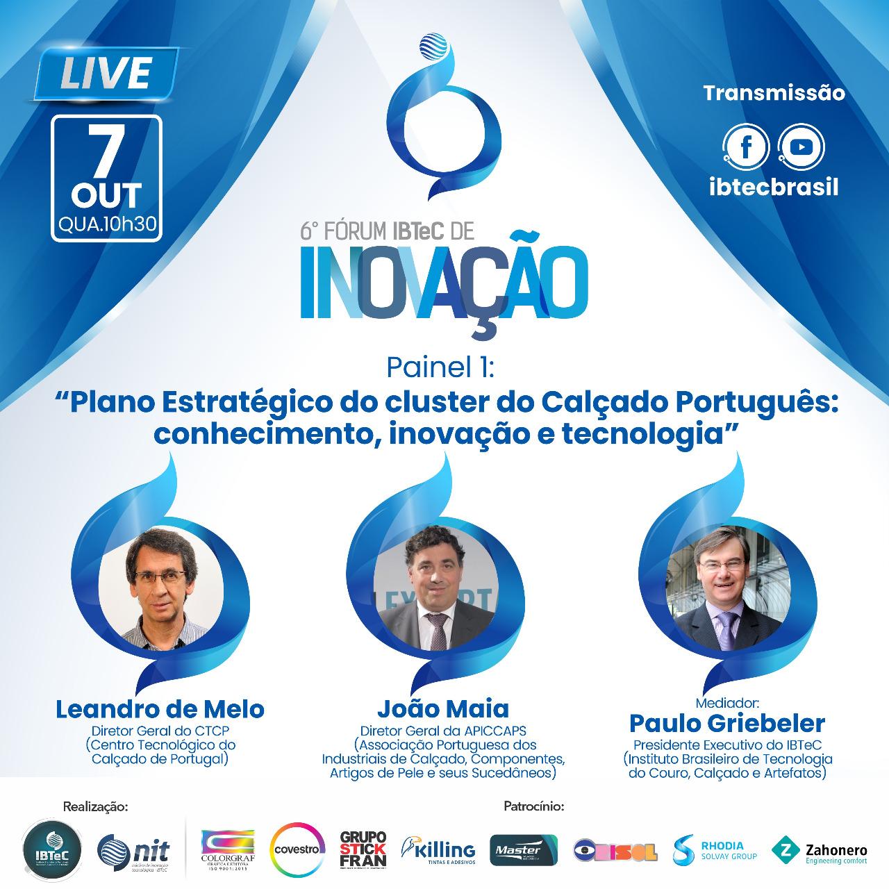 Plano Estratégico do cluster do calçado Português: conhecimento, inovação e tecnologia